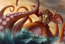 Great Scarrier Reef - Kraken concept artwork