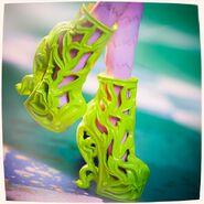 Diorama - Bonita's shoes