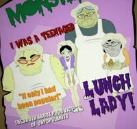 New Ghoul @ School - lunch ladies
