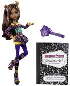Doll stockphotography - School's Out Clawdeen