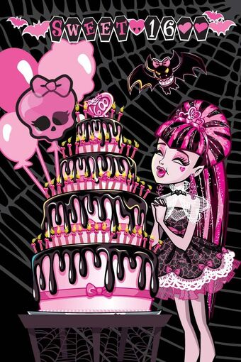 Awe Inspiring Sweet 1600 Diaries Monster High Wiki Fandom Funny Birthday Cards Online Hendilapandamsfinfo