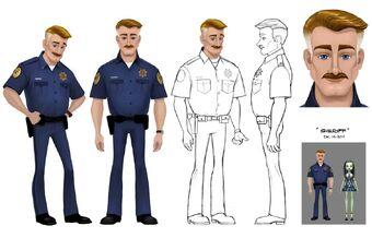 Concept art - GR sheriff sheet