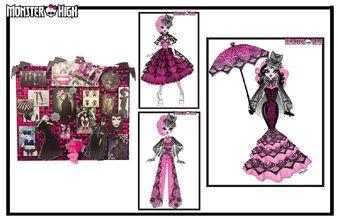 Concept art - Collector Draculaura moodboard
