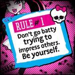 Rules of Monster High - rule 01