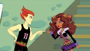 Fur Will Fly - Heath vs Clawdeen