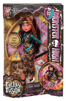 Bjr39 monster high freaky fusion cleolei doll-en-us xxx 1
