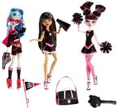 Doll stockphotography - Go Monster High Team!!! first 3-pack