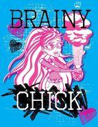 Facebook - brainy chick