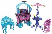 Doll stockphotography - Scaris City of Frights Café cart