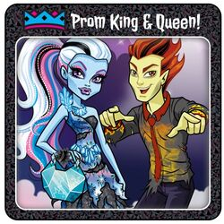 Prom 2014 - winning couple