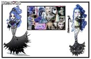 Concept art - Sirena moodboard