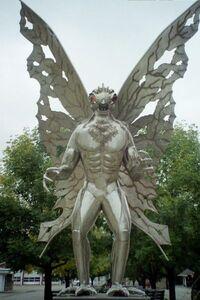 Monster history - Mothman statue