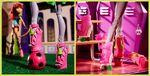 Diorama - Marisol's feet at Monster High