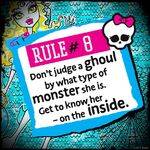 Rules of Monster High - rule 08