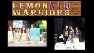 LemonAID Warriors - partnership announcement poster