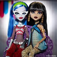 Diorama - Ghoulia and Cleo