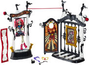 Chw68 monster high freak du chic circus scaregrounds rochelle goyle doll xxx 1