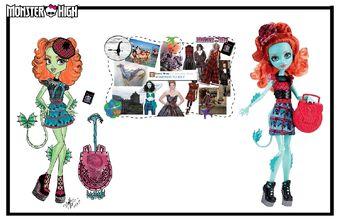 Concept art - Lorna moodboard