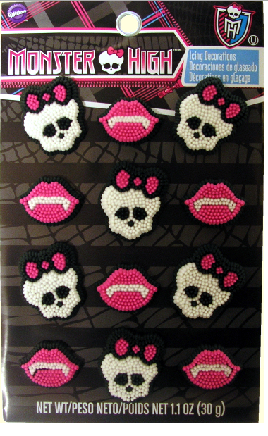 Image Monster High Icing Decor With Packaging G Monster High