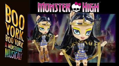 Monster High Cleo De Nile Boo York Boo York with MLP Equestria Girls Mini Tutorial