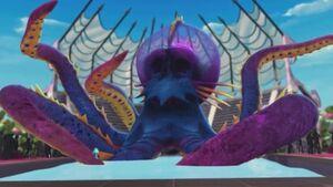 Great Scarrier Reef - kraken slide
