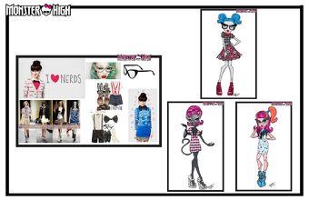 Concept art - Geek Shriek moodboard