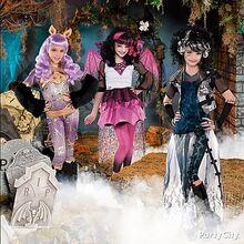 Ghouls Rule Costumes Display