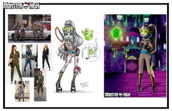 Concept art - Collector GB Frankie moodboard