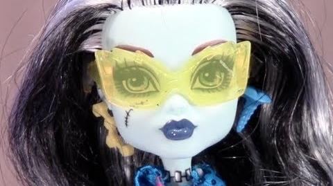 Frankie Stein Scaris Monster High Doll Toy Review KittiesMama