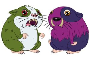 Meet You in Monster Picchu - guinea pigs