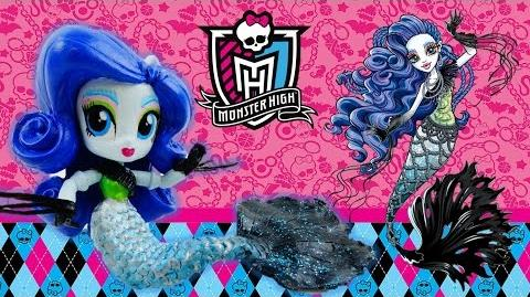 New Custom Monster High Sirena Von Boo Mermaid Doll From My Little Pony Equestria Girl Tutorial