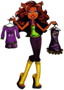 Profile art - IHF Clawdeen