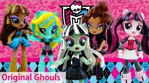 DIY Compilation Monster High Original Ghouls Custom with My Little Pony Equestria Girls Minis