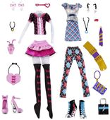 Doll stockphotography - Day at the Maul 3-pack
