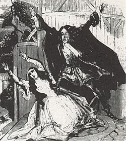 Monster history - Varney illustration