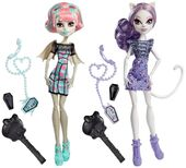 Doll stockphotography - Ghoul Chat Rochelle and Catrine