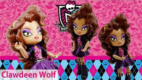 New Custom Monster High Clawdeen Wolf Doll from MLP Equestria Girl Tutorial Evies Toy House