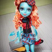 Diorama - Lorna's suitcase