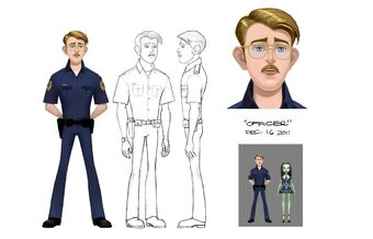 Concept art - GR officer sheet