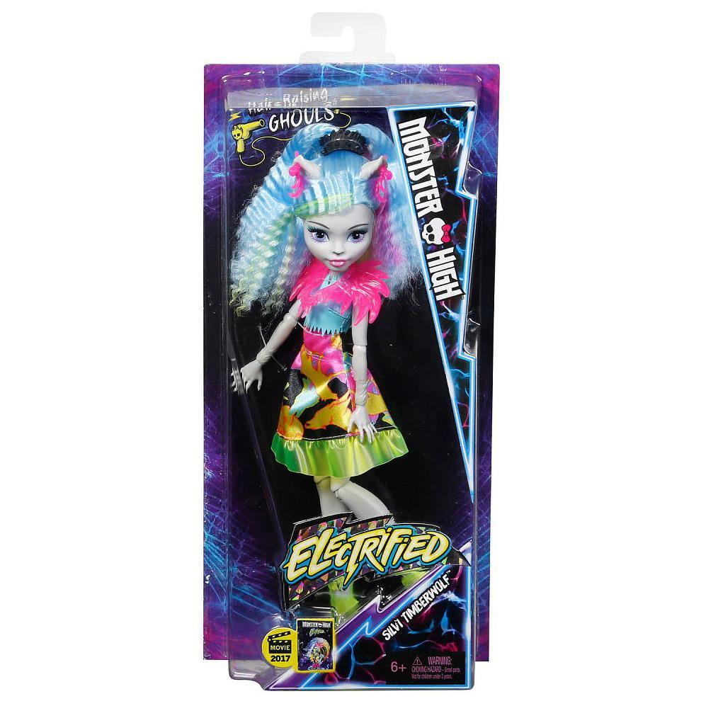 Electrified Hair-Raising Ghouls Silvi Timberwolf Doll
