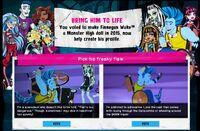Website - Finnegan profile vote - Freaky Flaw