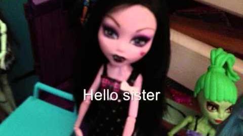 Monster High Dreams - S1 E16 - Pirela The Vampire Sister!