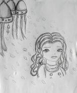 Sunita dzwoneczki szkic