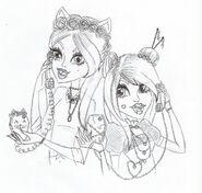 (BRZYDKIE)Amm & San Ghoul Chat