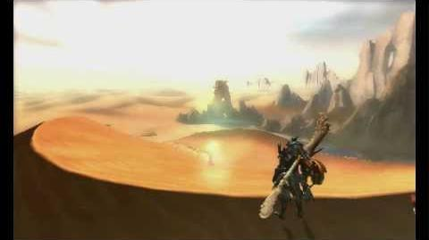 3DS『モンスターハンター4G』 制作決定発表映像-0