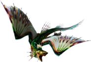 MH3U-Green Plesioth Render 001