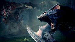 MHWI-Rathalos and Nargacuga Screenshot 001