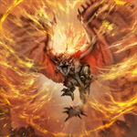 TEPPEN-Rathalos Support Card Artwork 001