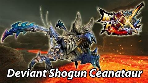 MHXX G1 First encounter with Armor Shredder Shogun Ceanataur