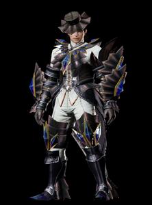 MHO-Akura Armor (Gunner) (Male) Render 001